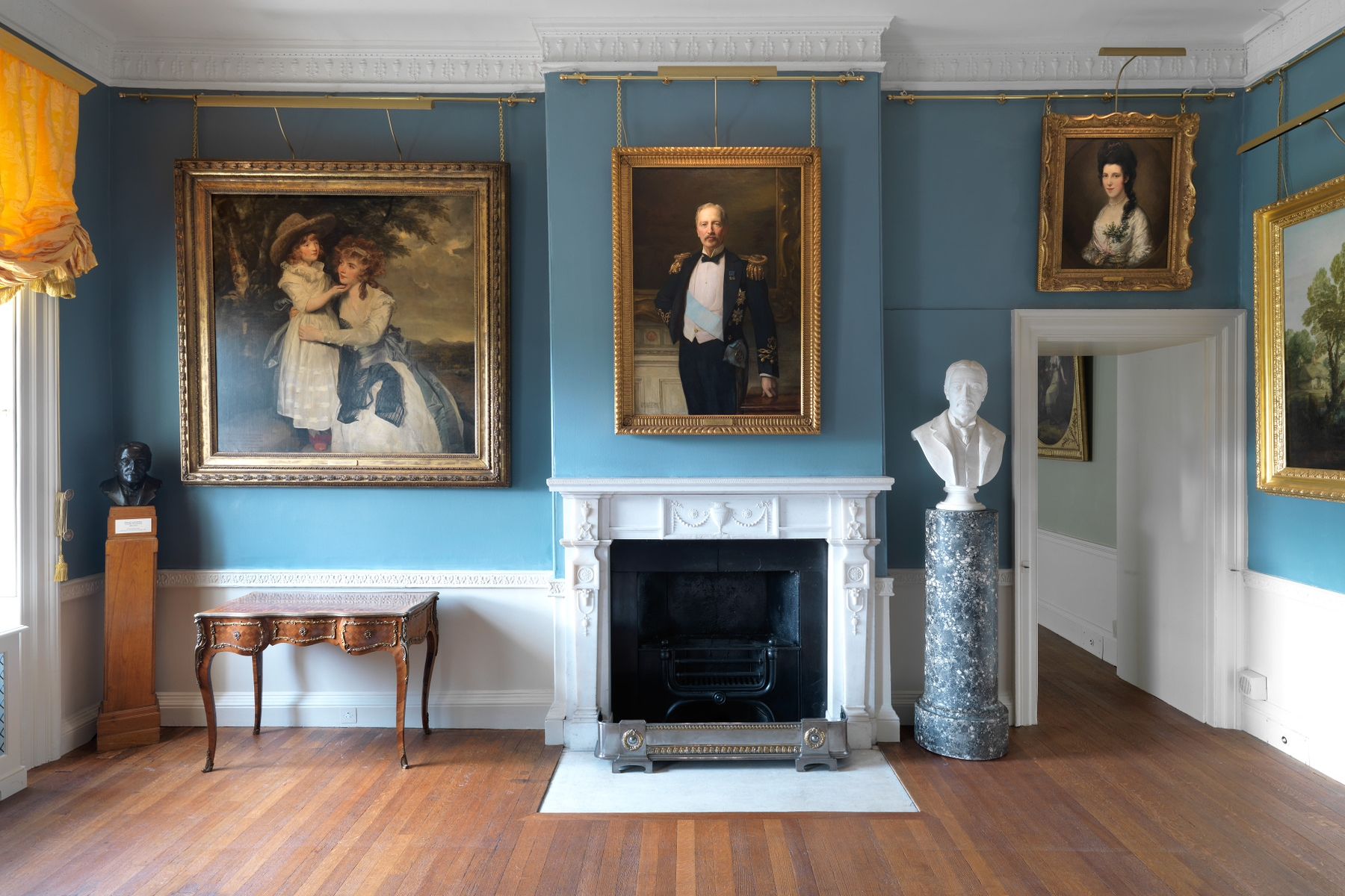 Kenwood House interior with artwork on the walls