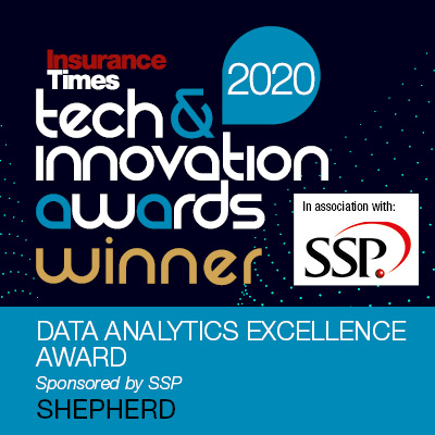 Data Analytics Excellence Award 2020 - Insurance Times