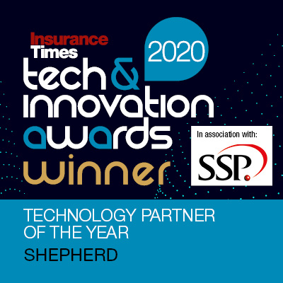 Technology Partner of the Year 2020 - Insurance Times