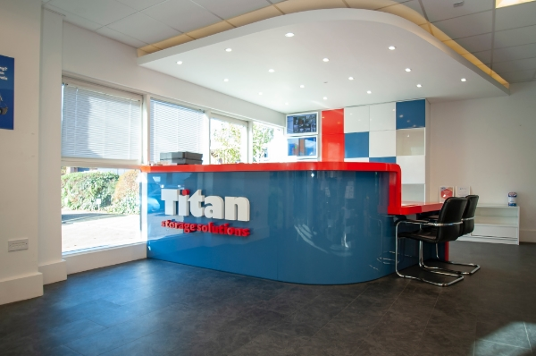 Titan Bracknell reception desk